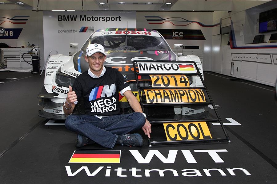 Wittmann - Herzlichen Glückwunsch Marco Wittmann