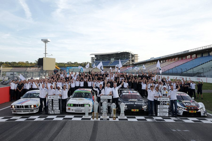 DTM - Herzlichen Glückwunsch, BMW!