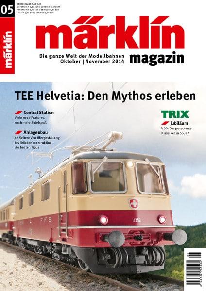 c9d3082df9 - Das Märklin Magazin 05/2014 fährt ein!