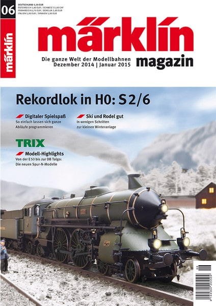 20d0955f46 - Everyone get in! The Märklin Magazine  06/2014 is available