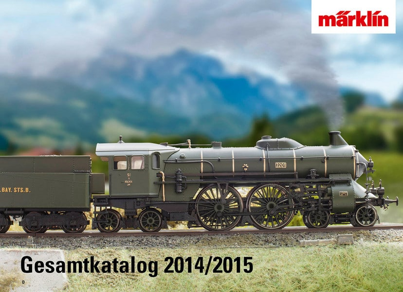 b55d29feaf - Everything at a glance - Märklin Full Line Catalog 2014/2015