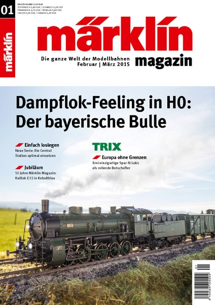 c0698623ea - Full speed with the Märklin Magazine 01/2015