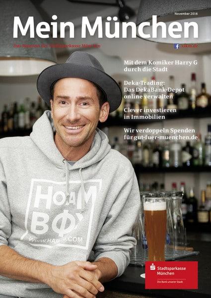 """ede8d5654b - Harry G in der neuen Ausgabe  von """"Mein München"""""""