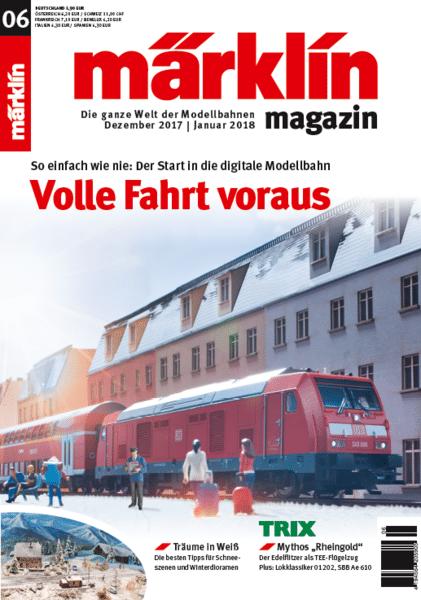cd3a70c6a3 - Weihnachtsloks, Schatzsuche und exklusive Clubmodelle. Das Märklin Magazin 06/2017 feiert das Modellbahnerlebnis.