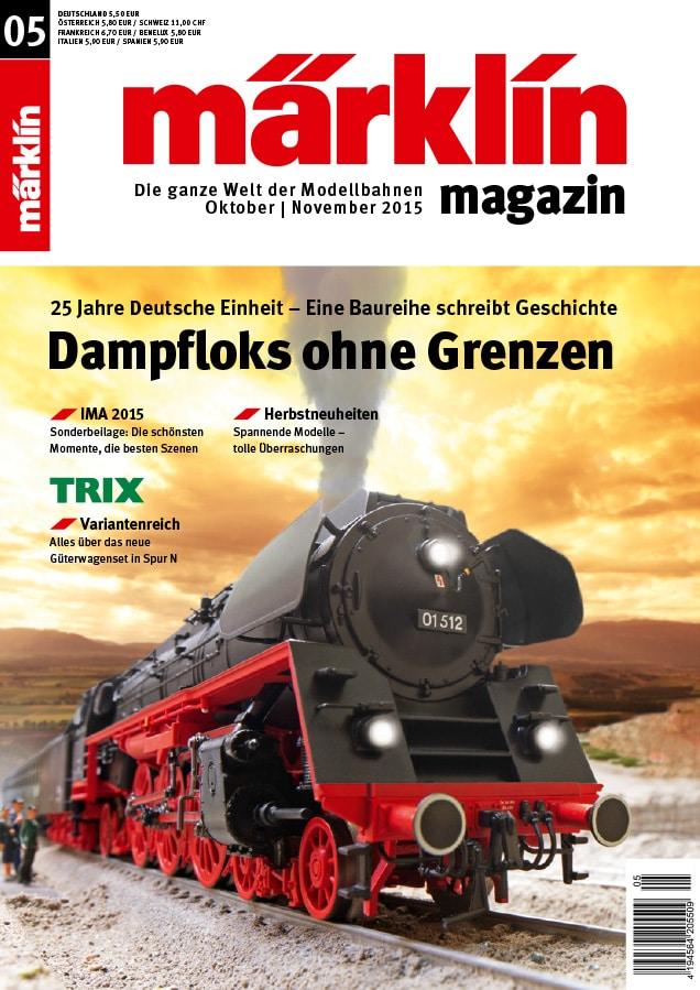 00 Titel MM 05 2015 101215 Homepage tt - Perfektion im Thema Kundenbindung : Das Märklin Magazin 05/2015