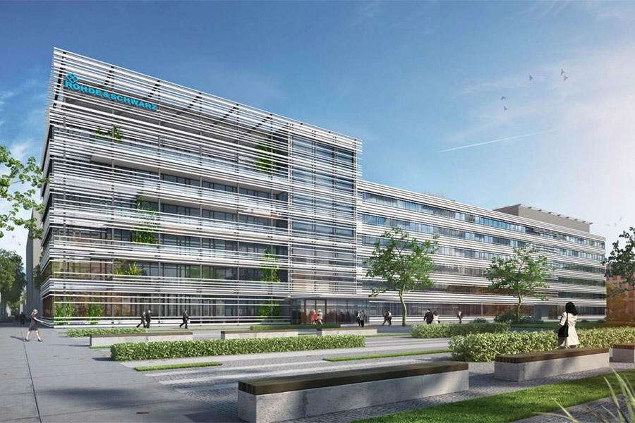 4. Technologiezentrum II Werksviertel - Richtfest für das Technologizentrum II im Werksviertel München