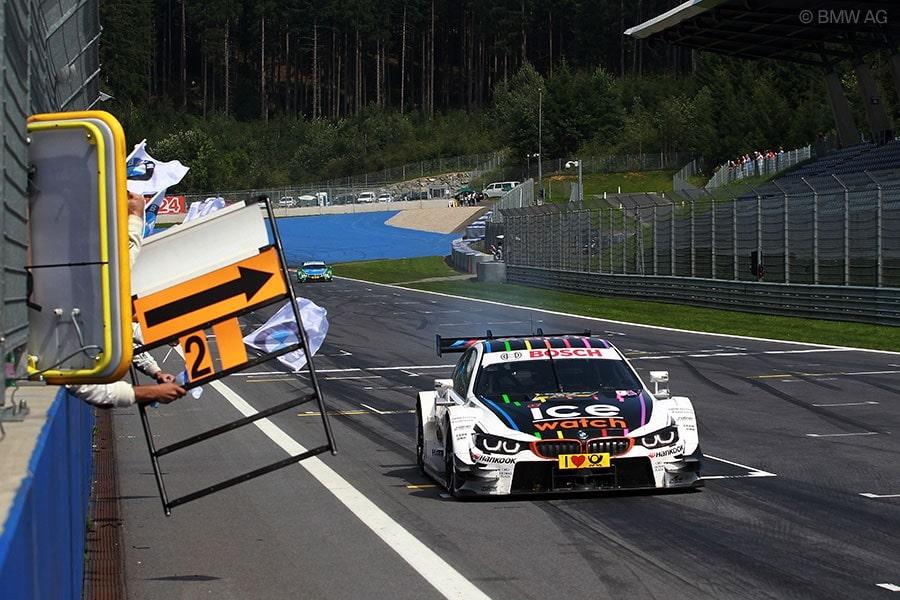 DTM Spielberg - BMW celebrates DTM quadruple triumph