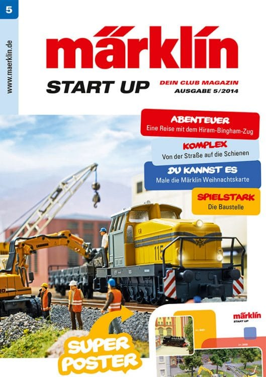 Maerklin START UP 5 14 Titel web 529x750 - The fifth start up club magazine is ready!
