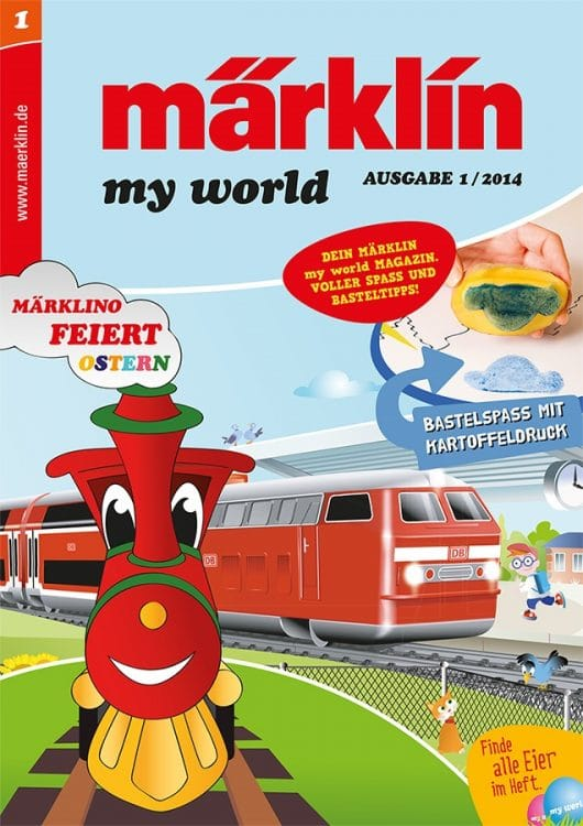 My World Titel fuer Web 530x750 - my world Club Magazine celebrates its debut at Intermodellbau in Dortmund