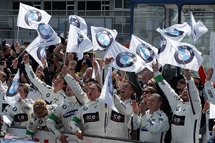 P90149170 420x280px - First race, first victory for BMW at the DTM season opening.