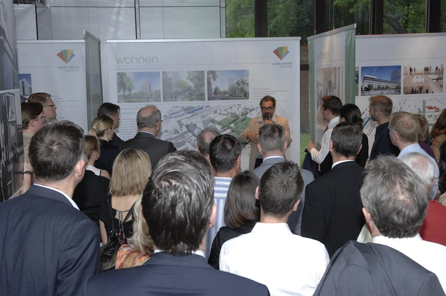 "Werksviertel - Introduction of the modified plans for the real estate project ""Werksviertel"""