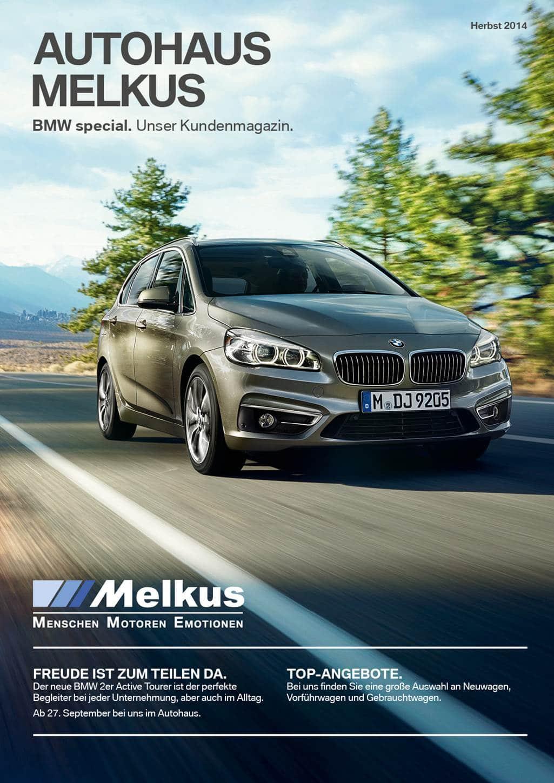 autohaus Melkus website - Die BMW special – eine optimale Schnittstelle zwischen Händler und Kunde