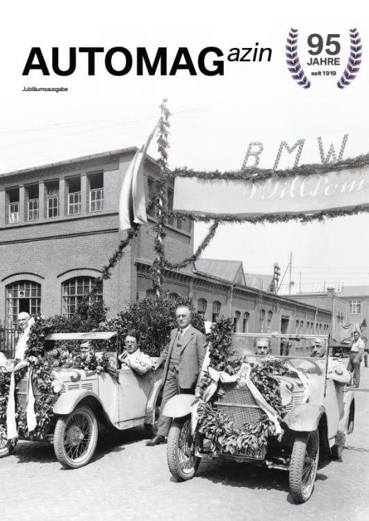 automag titel 531x750 - Der älteste und modernste BMW Händler weltweit.