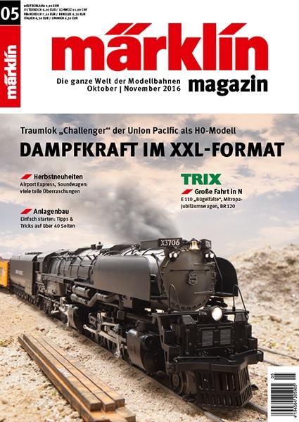 merklin - Herbstzeit – Modellbahnzeit! Das Märklin Magazin 05/2016