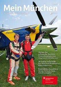 """MM 3.18 Cover 212x300 - Mein München - Das Digitalmagazin <br>der Stadtsparkasse München <br>"""" Es lebe der Sport!"""""""