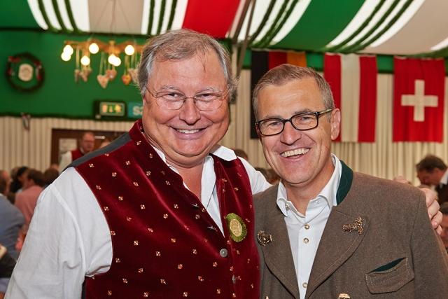 Stephan Heller und Jan Christian Dressen 640x480 - Das heller & partner Armbrustschießen 2018