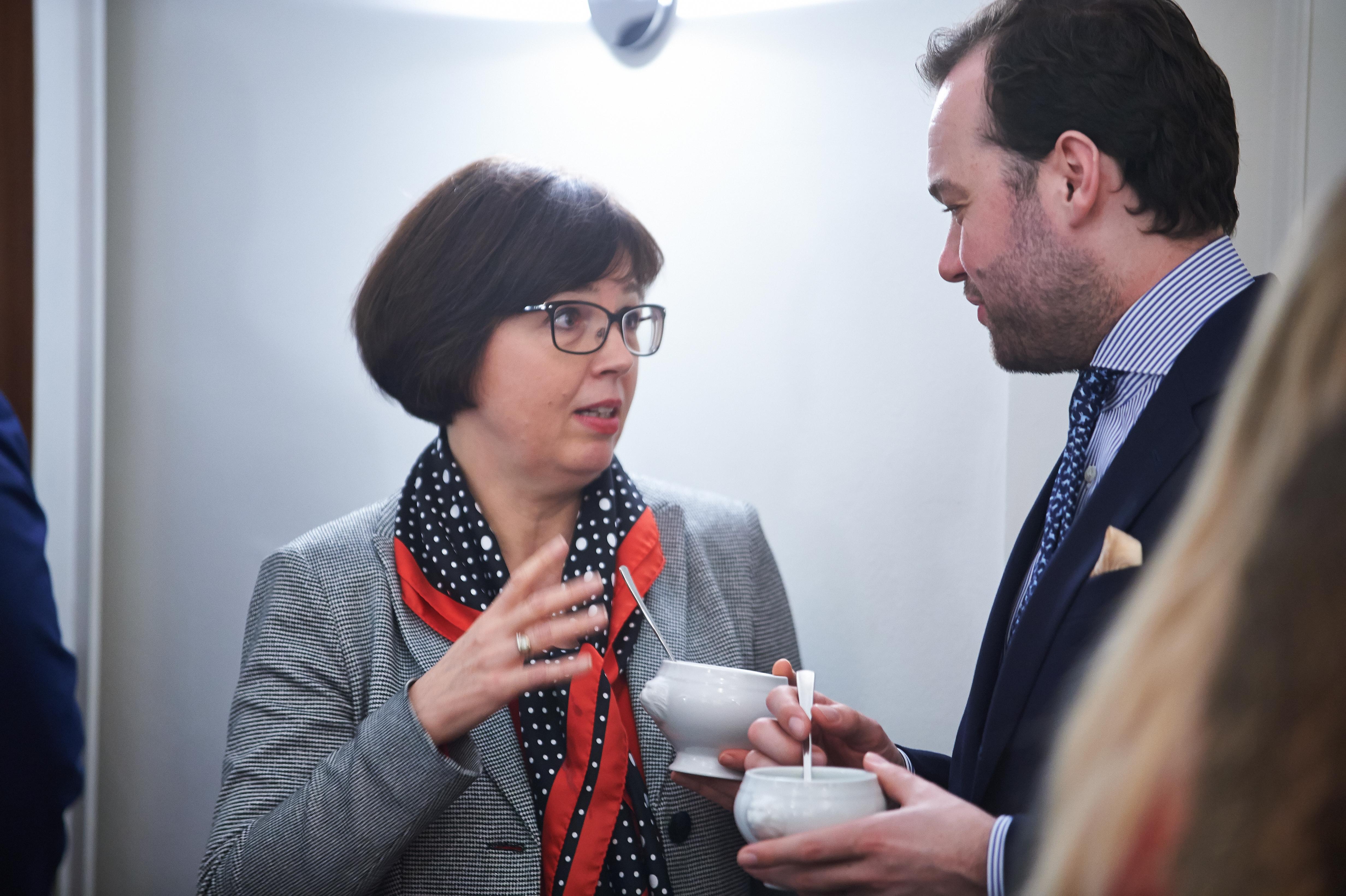 ursula egger - Ilse Aigner zu Gast bei heller & partner