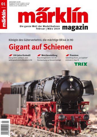 Märklin Magazin 01/2019