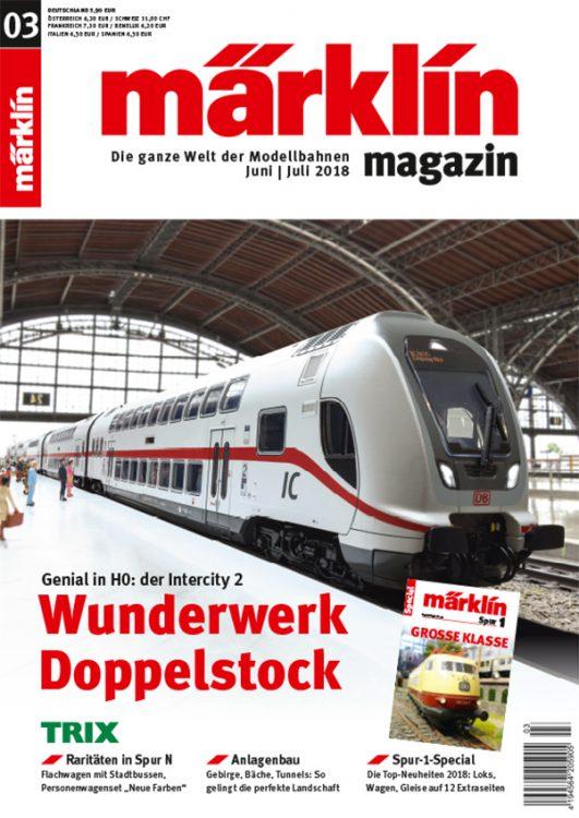 Märklin Magazin 03/2018