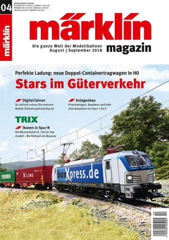 Märklin Magazin 04/2018