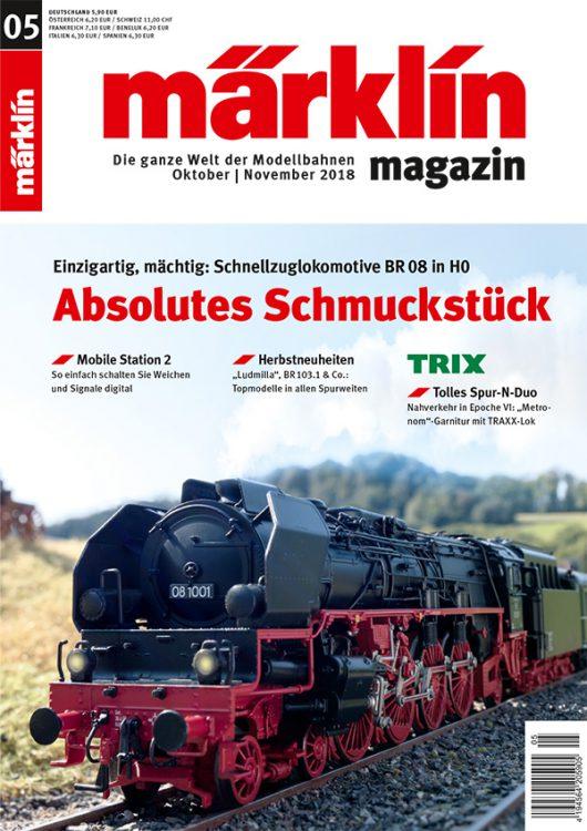 Märklin Magazin 05/2018