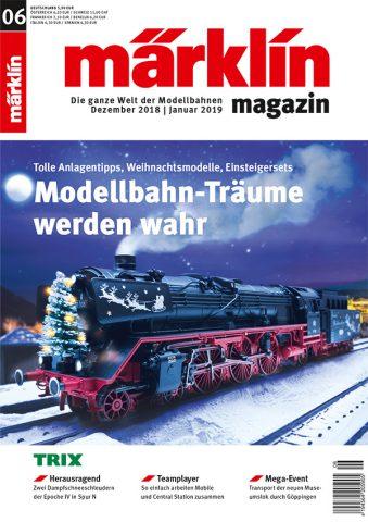 Märklin Magazin 06/2018