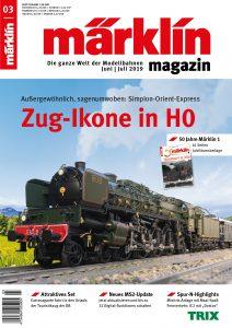 """Märklin 03 2019 212x300 - Märklin Magazin: """"Zug-Ikone in H0"""""""