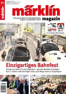 """Märklin 04 2019 212x300 - Märklin Magazin: """"Einzigartiges Bahnfest"""""""