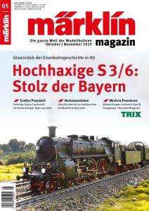 """Märklin 05 2019 212x300 - Märklin Magazin: """"Hochaxige S3/6: Stolz der Bayern"""""""